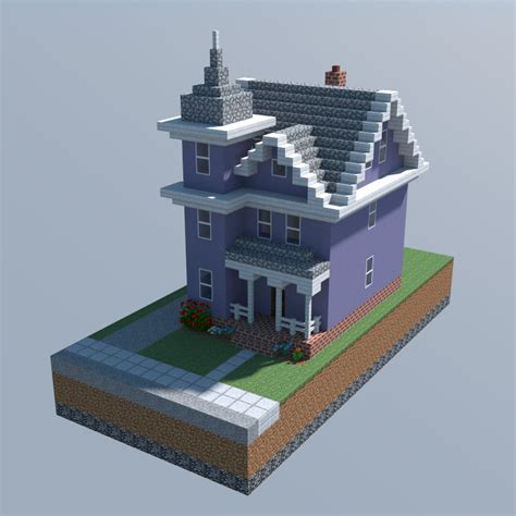 Awesome House Blueprints by A Victorian House Minecraft