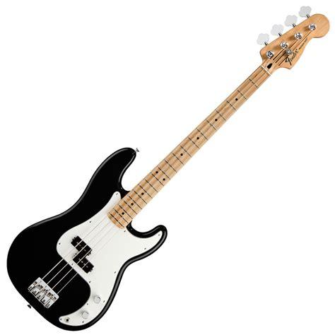 Nikisaga Standart For Guitar Bass Black fender standard precision bass mn black at gear4music