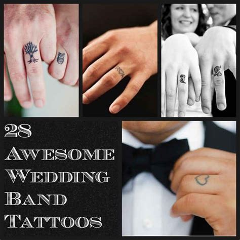 tattoos buzzfeed 28 awesome wedding band tattoos more wedding band