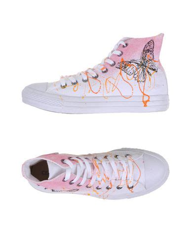 Dw Bwr Canvas Limited Edition converse limited edition all hi canvas ltd sneakers