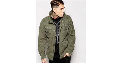 Coat Chika diesel jacket j chika field 4 pocket in for lyst
