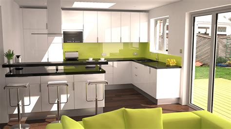 new home interior design kitchen extensions freelance visualiser animator architectural