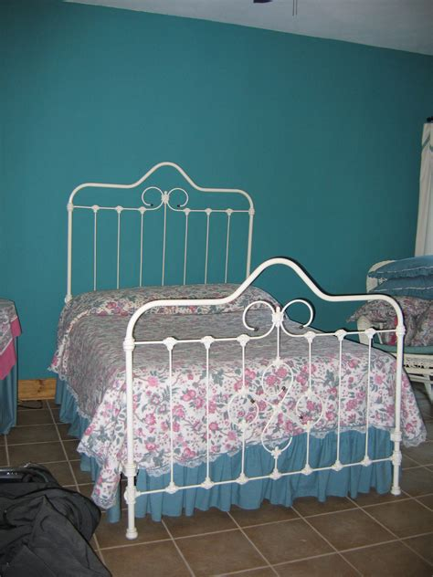 wrought iron beds for sale white cast iron bed for sale antiques com classifieds