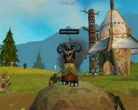 World Warcraft Birthday Card World Of Warcraft Happy Birthday Youtube