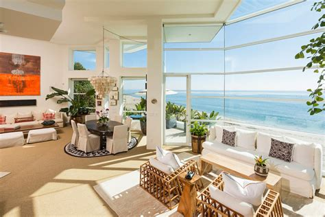 seashore home decor luxurious masterfully crafted paradise cove beach house in