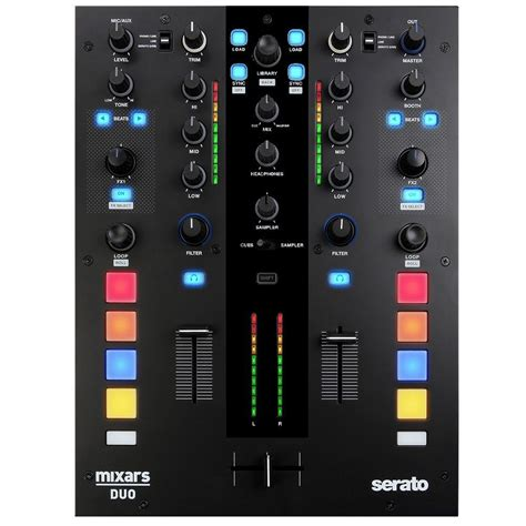 Mixer Dj namm 2016 mixars duo serato dj mixer djworx