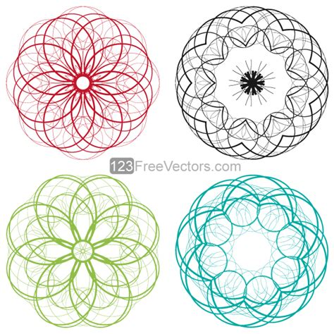 art design in circle 16 decorative designs clip art images black swirl clip