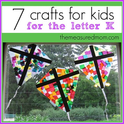 craft activities for crafts for letter k the measured