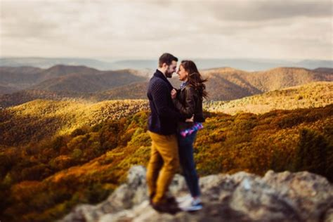 Rock Climbing Engagement in the Shenandoah Virginia