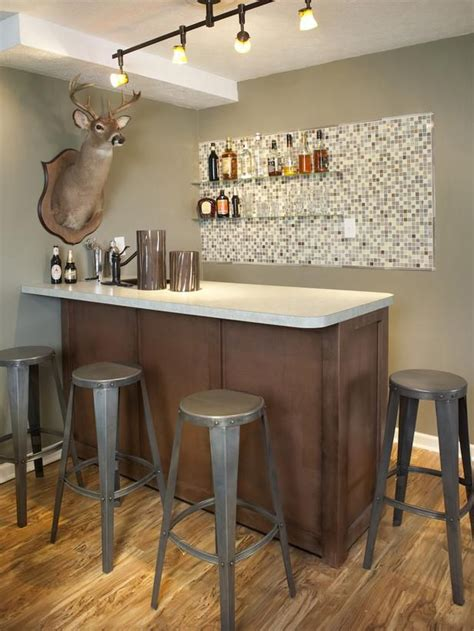 Simple Bar 1000 Ideas About Small Basement Bars On