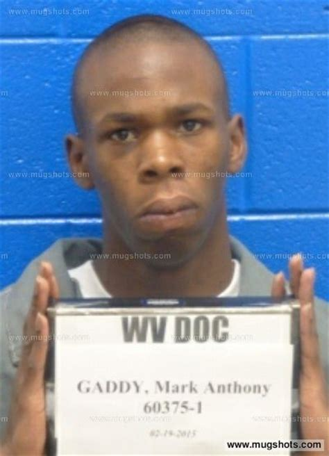 Kanawha County Arrest Records Gaddy Mugshot Gaddy Arrest Kanawha County Wv