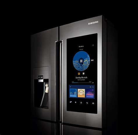samsung family hub smart fridge that reconnects families places to