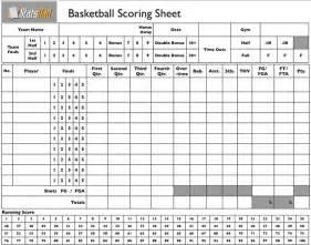 Kabaddi Score Sheet Model by Blank Basketball Stat Sheet Printable Print This Blank