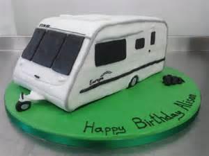 wohnwagen kuchen 3d caravan birthday cake crumbs cake shop sheffield
