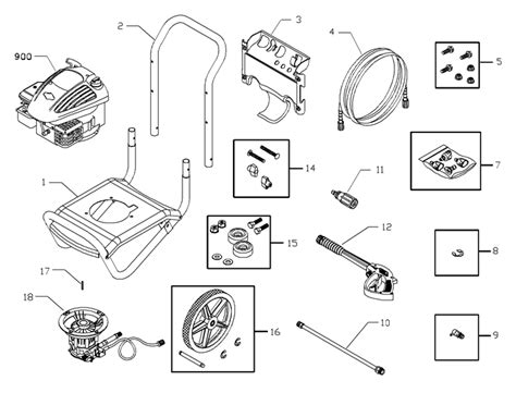 briggs and stratton pressure washer parts diagram briggs stratton engine breakdown briggs free engine