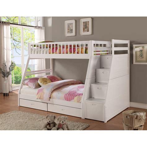 viv rae pierre twin  full bunk bed  drawers