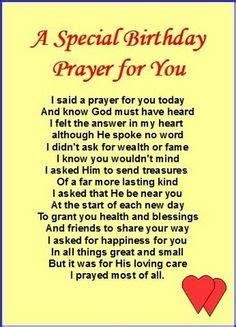 Birthday Prayer For by 1000 Images About Birthday Wishes On Happy