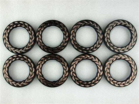 eyelet curtain rings set of 8 vintage decorative plastic rings for eyelet