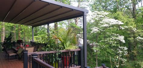 deck awning deck awnings chester county milanese remodeling
