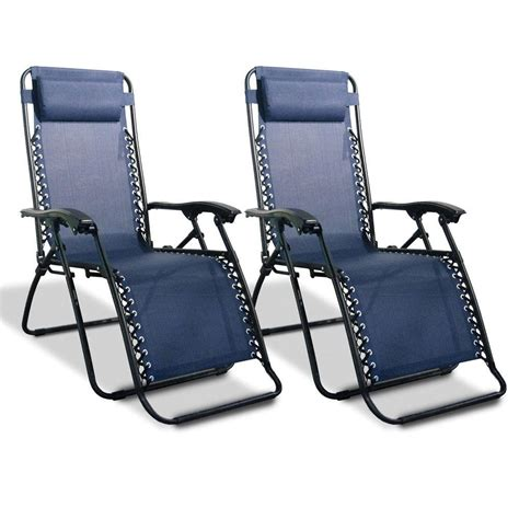 Zero Gravity Recliners On Sale by Zero Gravity Recliner Blue 2 Pack Caravan Canopy