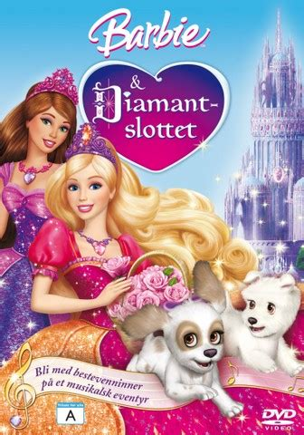 film barbie norsk barbie og diamantslottet dvd film cdon com