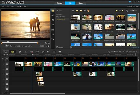 corel studio templates editing software by corel videostudio pro x9 5