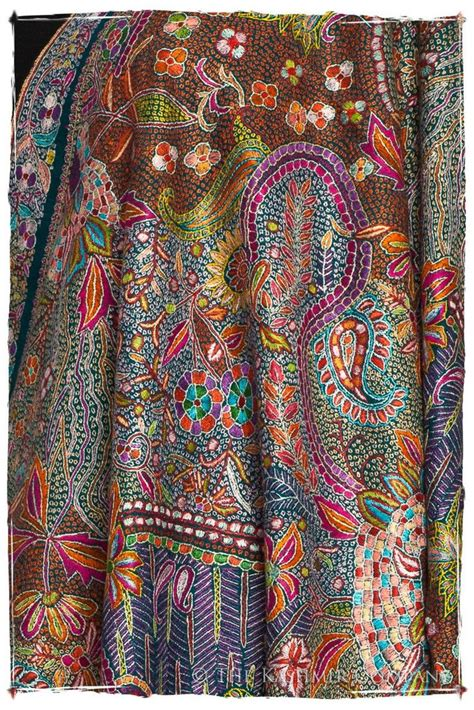 pattern for a fabric shawl 53 best kashmiri shawls jackets phirans images on