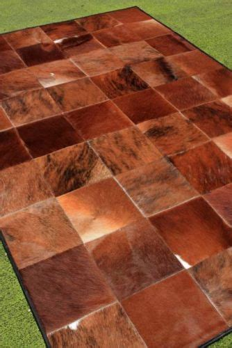 Cow Patchwork Rug - cow hide cowhide rugs and patchwork on