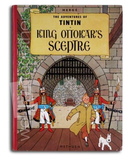 Kaos Tintin King Ottokars Sceptre herg tintin king ottokars sceptre uk edition 1st lenguage edition methuen