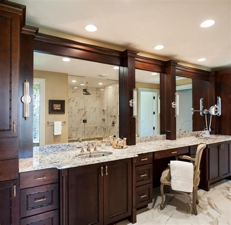 20 inspirations large framed bathroom wall mirrors