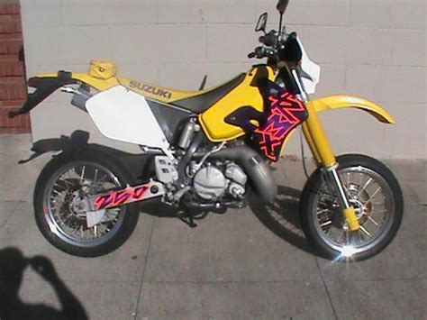 Suzuki 250 Supermoto Buy 1997 Suzuki Rmx 250 St Two Stroke On