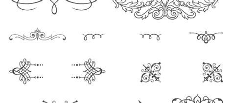 85 free vintage vector ornaments vecto2000 com