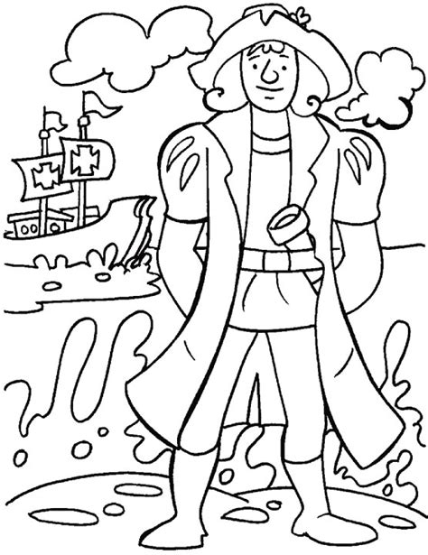 columbus day coloring pages 14 coloring kids