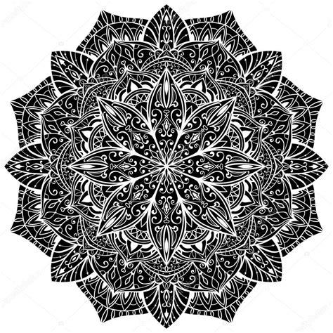 tattoo mandala oriental black oriental mandala stock vector 169 matorinni 79029910