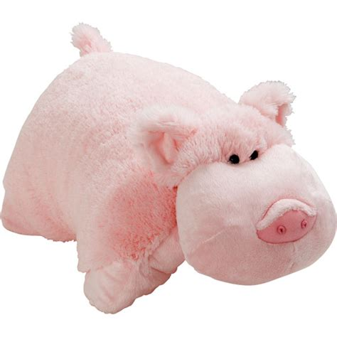 Pillow Pets by As Seen On Tv Pillow Pet Wiggly Pig Walmart