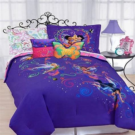 tinkerbell bedding disney bedding surreal garden tinkerbell twin comforter new ebay