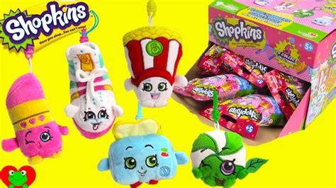 Sweet Peril Series 2 New Shopkins Plush Hangers In Blind Bags With Poppy Corn