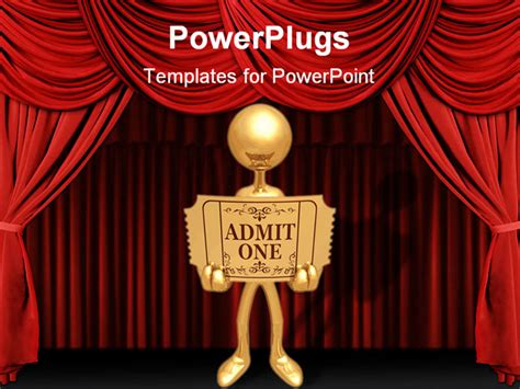 awards presentation template a concept and presentation figure in 3d vector powerpoint