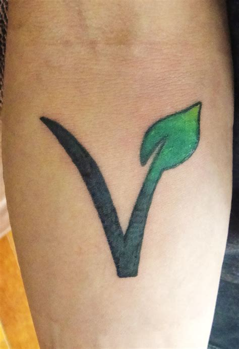 vegan tattoo vegetarian vegan vegetarian friend