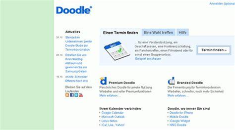 doodle terminplanung news ch doodle terminplanung verbraucht zu viel zeit