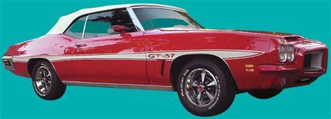 1972 pontiac gt37 pixnet 1971 72 lemans gt 37 stripe kit