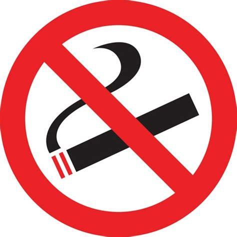 no smoking sign free vector no smoking symbol vectors