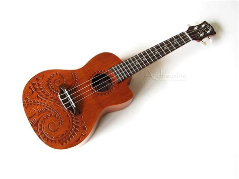 concert acoustic electric ukulele w bag reverb