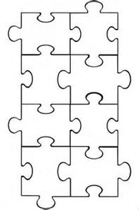 Autism Puzzle Template by 1000 Ideas About Puzzle Template On