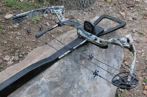 Handmade Crossbow - the slingshot channel home made crossbow finished