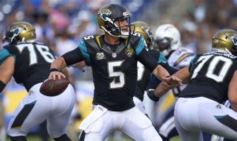 Jacksonville Jaguars Season Stats Rookie Quarterbacks Quarter Season Review Page 4