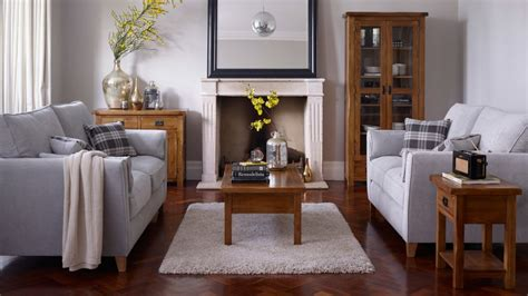 Farmhouse Livingroom by Living Room Furniture Finance Available Oak Furniture