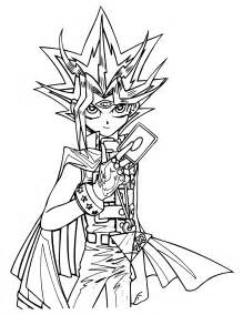 yugioh coloring pages free coloring pages of yu gi oh yugi and yami
