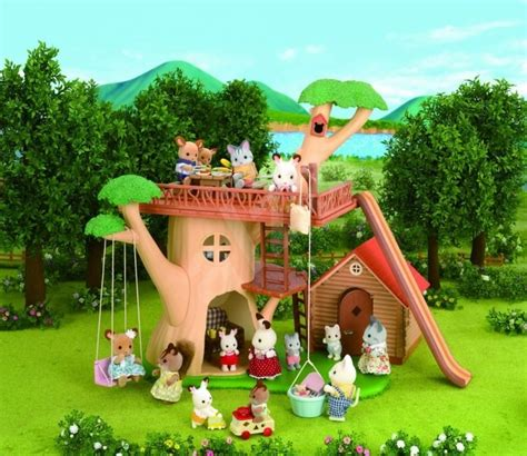 Sylfanian Tree House sylvanian families tree house play set alzashop