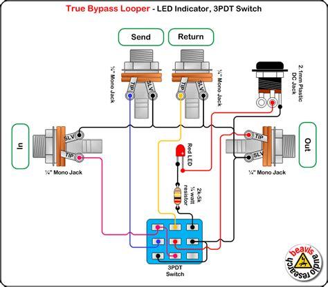 true bypass looper pull resistor true bypass ser 225 vintage ware